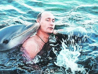 putin-with-dolphins