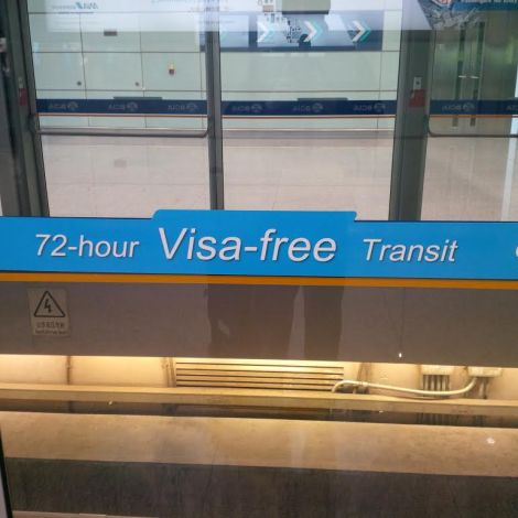 72-hour visa-free transit